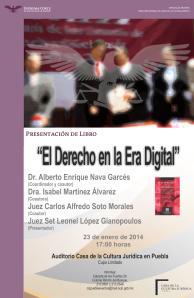 """Presentación del libro """"El derecho en la era digital"""""""