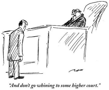 Humor judicial